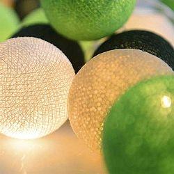 Svítící řetěz Irislights Wasabi, 20 světýlek