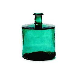 Tmavě zelená váza La Forma Laverne