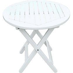 Zahradní skládací stolek z eukalyptového dřeva ADDU Mesa