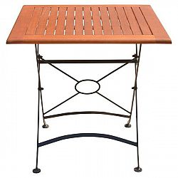 Zahradní skládací stůl z eukalyptového dřeva ADDU Vienna, délka75cm