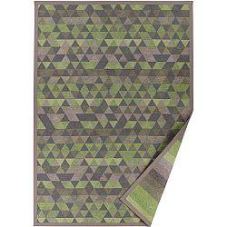 Zelený vzorovaný oboustranný koberec Narma Luke, 70 x 140cm