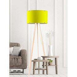 Žlutá stojací lampa Simple