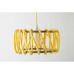 Žluté stropní svítidlo EMKO Macaron, ø 30 cm