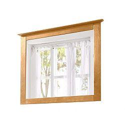 Zrcadlo s rámem z masivního borovicového dřeva Støraa Amanda