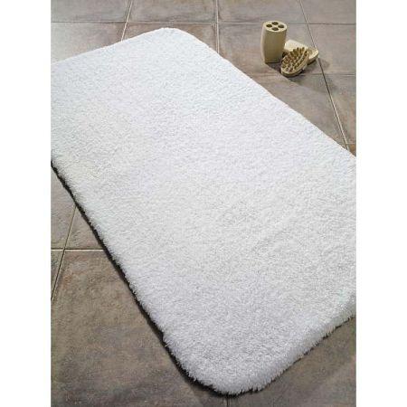 Bílá předložka do koupelny Confetti Bathmats Organic 1500, 60 x 90 cm