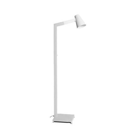 Bílá stojací lampa Design Twist Fahy