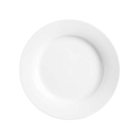Bílý porcelánový talíř Price&Kensington Simplicity,⌀27cm