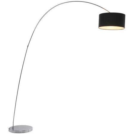 Černá stojací lampa Kare Design Gooseneck