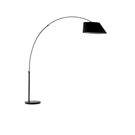 Černá stojací lampa Zuiver Arc