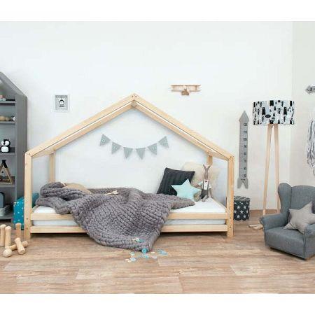 Dětská postel z přírodního smrkového dřeva Benlemi Sidy, 120 x 20 0cm