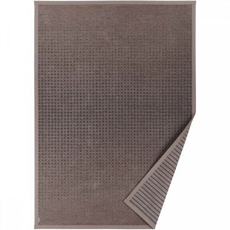 Hnědý vzorovaný oboustranný koberec Narma Helme, 140 x 200cm