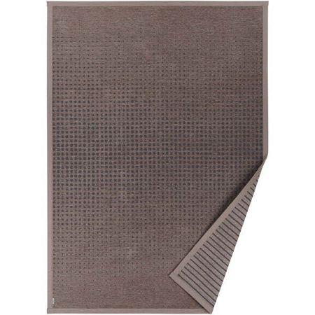 Hnědý vzorovaný oboustranný koberec Narma Helme, 70 x 140cm