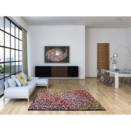 Koberec vhodný i na ven Universal Pandora Multi Burgo, 60 x 120 cm