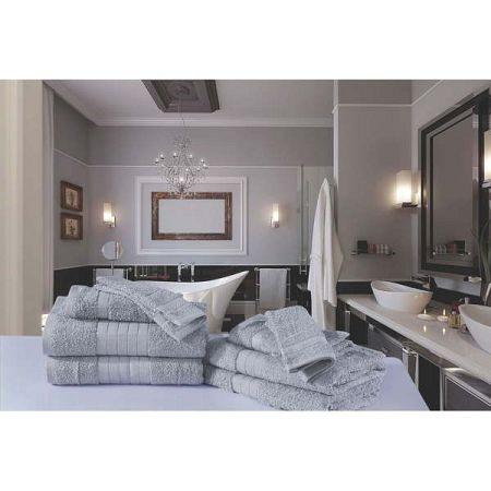 Koupelnový set osušek a rukavic z bavlny Uni Samino