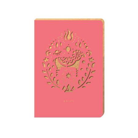 Linkovaný zápisník Portico Designs Beran, 124stránek