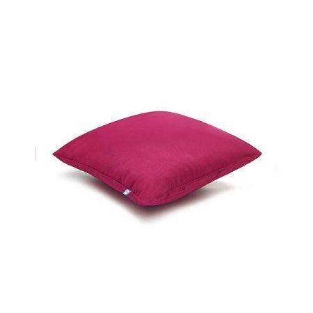 Malinově růžový povlak na polštář Mumla Basic, 70 x 80 cm