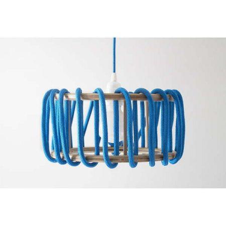 Modré stropní svítidlo EMKO Macaron, ø 45cm