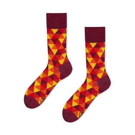 Ponožky Many Mornings Flame Triangles,vel.35–38