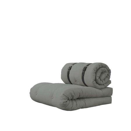 Rozkládací křeslo Karup Design Buckle Up Grey
