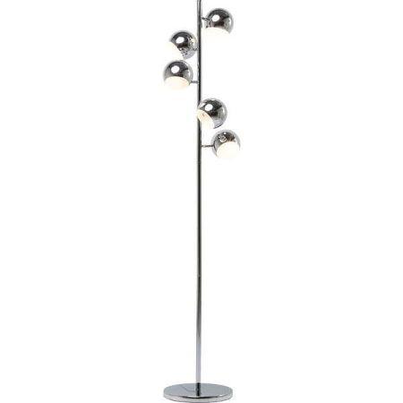 Stojací lampa v chromové barvě Kare Design Calotta 5er