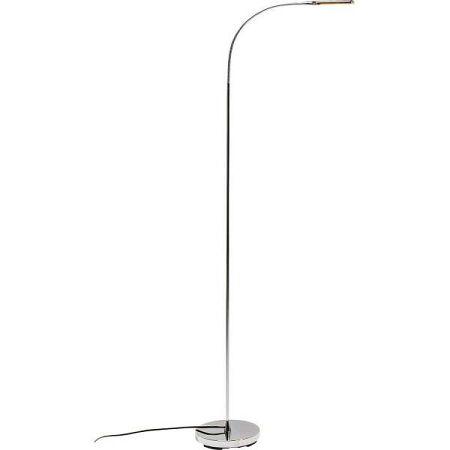 Stojací lampa v chromové barvě Kare Design Literature