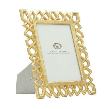 Stolní fotorámeček ve zlaté barvě Mauro Ferretti Classic, 15x20cm