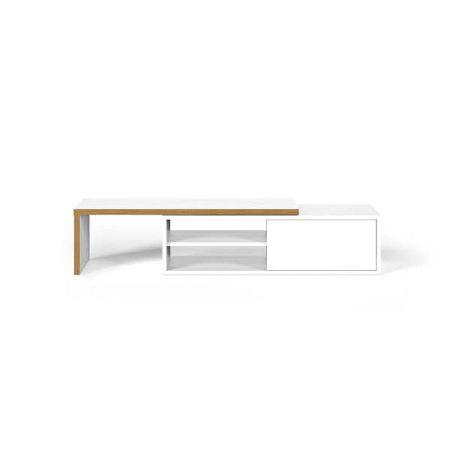 TV stolek s bílými detaily TemaHome Move