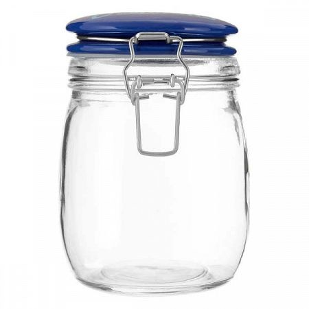 Uzavíratelná sklenice Premier Housewares Pretty Things, 750ml