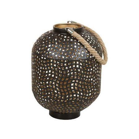 Železná stojací lampa Santiago Pons Ball, výška 30cm